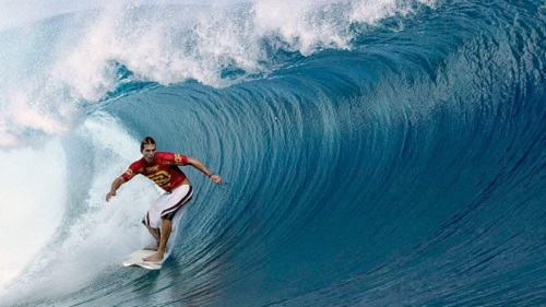 Current ASP world champion Andy Irons